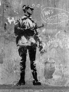 Blek le Rat, France - The Beauty of Stencil Art, originated by Blek.