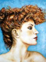 """Il gentil sesso II"", Acryl, 60 x 50 cm"