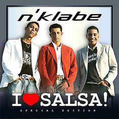 I LOVE SALSA - N'KLAVE (2005) Tracklist:  1. I love Salsa 2. Evitare 3. La Salsa de Puerto Rico 4. Quizas 5. Llegaste a tiempo 6. Por ella 7. Tiempo 8. Polos opuestos 9. La favorita