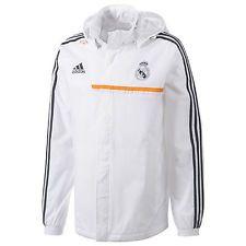 NEW  Adidas REAL MADRID All-Weather Windbreaker Jacket Track Top - XS S M L  XL  96215fd04b382