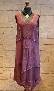 SARAH SANTOS Lagenlook Layering Collection MaxiTunic/Dress Purple Size XL Layered Fashion, Funky Fashion, Boho Fashion, Funky Style, Cool Style, My Style, Boho Outfits, Dress Outfits, Fashion Outfits