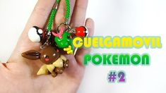 Cuelgamóvil Pokémon #2 Polymer Tutorial | Fimo | Porcelana