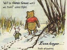 Disney Movie Quotes - Winnie The Pooh - Friendship