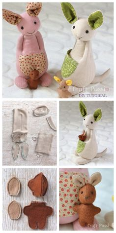 20 Adorable Sock Toys DIY Tutorials You Will Love to Make - nähen Diy Sock Toys, Sock Crafts, Crafts With Socks, Toy Diy, Diy Crafts, Sewing Stuffed Animals, Stuffed Animal Patterns, Sock Stuffed Animals, Easy Sewing Projects