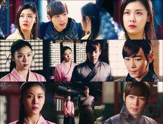 탈탈 & 승냥, they r so cut. ^^ Jin Yi Han, Baek Jin Hee, Ha Ji Won, Drama Quotes, Thai Drama, Korean Star, My Land, New Series