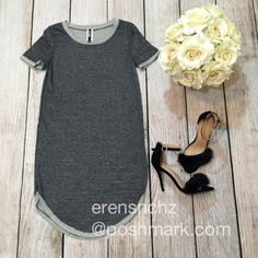 Kylie Jenner Style Gray T-shirt Dress S Kylie Jenner burgundy style t-shirt dress/tunic! Ships next day. If interested price will be dropped down to $30  Dresses