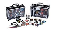Cameo Professional Makeup Set With Reusable Train Case - A Complete 'On The Go' Cosmetics Set Perfect For Beginners Or Professionals -- To view further for this item, visit the image link. Makeup Set, Makeup Tips, Makeup Kit Essentials, Cosmetic Sets, Train Case, Professional Makeup, Makeup Cosmetics, Image Link, Check