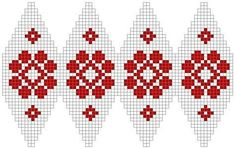 Color chart for knit Christmas ball – knitting charts Knit Christmas Ornaments, Christmas Knitting, Christmas Cross, Christmas Diy, Crochet Ball, Bead Crochet, Knitting Charts, Knitting Patterns, Fair Isle Chart
