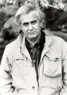 Henning Mankell, best-selling Swedish author of the Kurt Wallender mysteries.