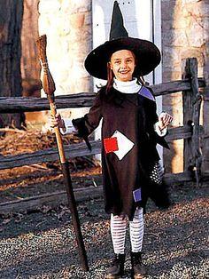 Homemade Halloween Costumes for Kids - Easy Homemade Kids Halloween Costumes - Country Living