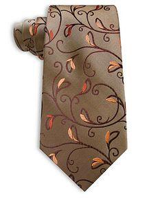 Alfani Tie, Bud Paisley Silk