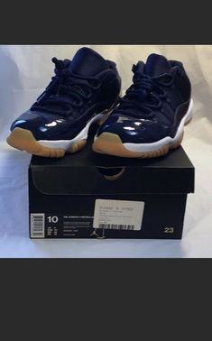 c4037f430f15 Brand New Air Jordan 11 Concord Low Navy Size 10  fashion  clothing  shoes