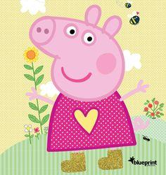 from Peppa pig catalogue Peppa Pig Cartoon, Peppa Pig Images, Peppa Pig Pinata, Cumple Peppa Pig, Peppa Pig Happy Birthday, Pig Birthday Cakes, Peppa Pig Familie, Peppa Pig Stickers, Peppa Pig Wallpaper