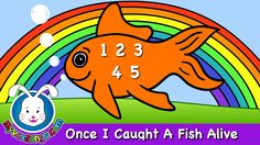 Once I Caught A Fish Alive | Nursery Rhymes