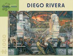 Jigsaw Puzzles - Diego Rivera