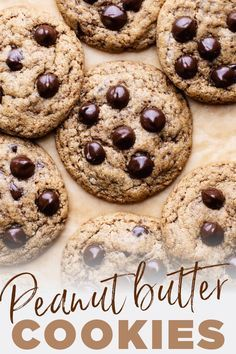 The Chewiest Gluten Free Peanut Butter Cookies Ever Made With Wh