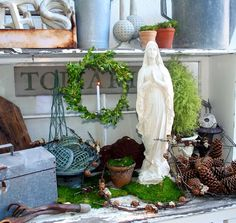 Potting Bench Altar