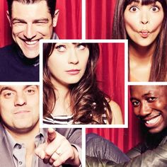New Girl ~ Jess, Nick, Schmidt, Cece and Winston.  My new favorite show :-)