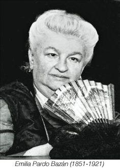 Emilia Pardo Bazán fue una novelista, periodista, ensayista y crítica literaria española introductora del naturalismo en España. Wikipedia Fecha de nacimiento: 16 de septiembre de 1851, La Coruña Fecha de la muerte: 12 de mayo de 1921, Madrid