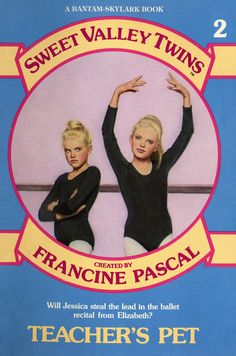 I loved the Sweet Valley Twins series - the book shown here is the original series' look from the 1980s.- me too