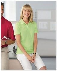 $33.75 > Ashworth 1148 Ladies EZ-Tech Pique Polo - Available Colors: 7, Size Range: S - 2XL