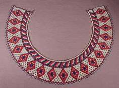 Explore brigittepicart's photos on Flickr. brigittepicart has uploaded 1602 photos to Flickr. Jewelry Making Beads, Beaded Jewelry, Beaded Necklace, Jewellery, Beaded Collar, Collar Necklace, Knit Patterns, Beading Patterns, Rangoli Designs With Dots