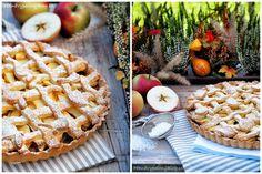Křehký koláč s jablky (Apple pie) Apple Pie, Waffles, Breakfast, Desserts, Food, Morning Coffee, Tailgate Desserts, Deserts, Essen