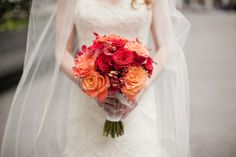 Fabulously chic details in a NYC wedding