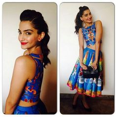 Sonam Kapoor Fashion Mantra - 12 Looks 12 Wochen - So Haute und Chic - Damenmode mit Stil Jacqueline Fernandez, Rock Style, Sonam Kapoor Hairstyles, Most Beautiful Bollywood Actress, Nerd, Bollywood Fashion, Bollywood Style, Bollywood Hair, Latest Dress