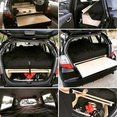 Turning A Honda Fit into a mobile camper! - Page 2 - Unofficial Honda FIT Forums Auto Camping, Minivan Camping, Truck Camping, Tent Camping, Camping Tips, Camping Cabins, Backpacking Meals, Ultralight Backpacking, Camping Places