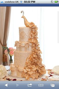 I'd love this as a wedding cake!!