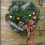 WeihnachtsZauber 2016 | Türkranz Christmas Wreaths, Christmas Tree, Tree Skirts, Holiday Decor, Home Decor, Organic Farming, Home And Garden, Plants, Xmas