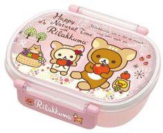 Nyanko Rilakkuma with Friends Tight Bento Box $16.00 http://thingsfromjapan.net/nyanko-rilakkuma-with-friends-tight-bento-box/