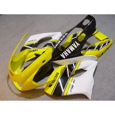 Yamaha YZF-1000R 1997-2007 ABS Fairing - Others - Yellow/Black/White | $579.00