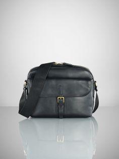 Ralph Lauren - Gents Leather Cross-Body Bag