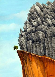 st ste yerle tirilmi h crelerinizden memnun musunuz Ben Save Planet Earth, Save Our Earth, Surreal Art, Conceptual Art, Pictures With Deep Meaning, Satirical Illustrations, Meaningful Pictures, Save Nature, Nature Nature