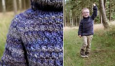 Free knitting pattern for children's sweater