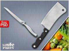 knife party PSD by ~TLMedia on deviantART