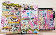 The Documented Life Project Weekly Planner Pages...