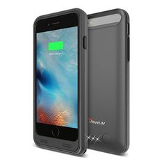iPhone 6 / Battery Case Trianium Atomic Pro iPhone Portable Charger iPhone 6 / iPhone inch Charging Case Extended Battery Pack Juice Bank Cover[MFI Apple Certified] [Black] -- Visit the image link more details. (This is an affiliate link) Best Battery Charger, Cell Phone Battery Charger, Iphone 7 Plus, Iphone 6, Iphone Cases, Portable Charger For Iphone, Iphone Reviews, Best Iphone, Cell Phone Accessories