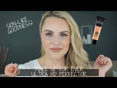 Have you been looking for a sheer foundation that has more coverage then a tint moisturizer and keeps you hydrated all day? Sheer Foundation, Makeup Foundation, Hd Make Up, How To Make, Tinted Moisturizer, Beauty Tutorials, Makeup Dupes, My Beauty, Dry Skin