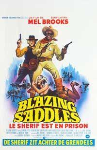 Blazing Saddles - 11 x 17 Movie Poster - Belgian Style A