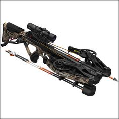 Barnett's all-new Hyperflite EVO 420 is packed with premium features and new innovative technology designed to enhance accuracy, durability, penetration and overall performance, making it the most lethal hunting crossbow on the market. Ninja Weapons, Sci Fi Weapons, Weapons Guns, Crossbow Hunting, Hunting Guns, Hidden Blade, Self Defense Weapons, Bowfishing, Technology Design