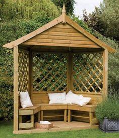Garden corner arbours uk, plans for hip roof shed, diy bird feeders