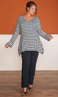LILLIAN TUNIC / MiB Plus Size Fashion for Women / Professional / Plus Size Tunic