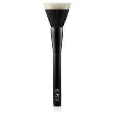 Brocha Redonda para Base de Maquillaje: Face 106 - KIKO Make Up Milano