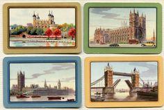 Swap Cards_vintage London scenes Vintage London, Childhood Memories, 1950s, Printables, Australia, Cards, Pictures, Painting, Photos