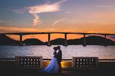Casamento de Paulo e Rubyana que foi realizado em Vitória. Com direito ao lindo por do sol em nossas externas, em pleno cenário de cartão postal.
