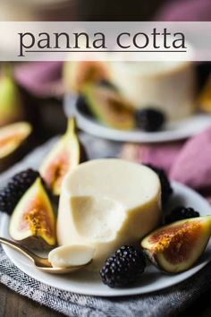 Classic Italian Panna Cotta: This came out so silky-smooth and I loved the subtle caramel notes. Easy to make with just 5 simple ingredients! Try it with Domino® Golden Sugar- it's less processed & subs cup for cup for traditional white sugar. Elegant Desserts, Italian Desserts, Easy Desserts, Delicious Desserts, Dessert Recipes, Yummy Food, Panacota Recipe, Easy Panna Cotta Recipe, Classic Italian