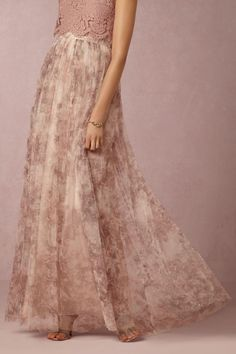 BHLDN Louise Tulle Skirt in  Bridesmaids at BHLDN
